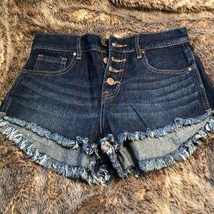 Bullhead Denim High-Rise Shorts
